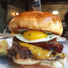 WEBSTA @ eater_chicago - Just a picture of the @auchevalchicago burger to help you get through your day. : @forkknifeandspoons Tag your food photos with #eaterchicago and we'll feature our favorites.