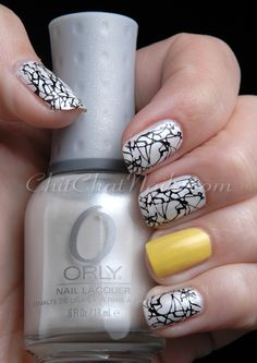 I'm doing this with navy instead of black.  http://www.chitchatnails.com/tag/black/page/11/