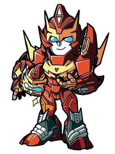 Rodimus and the Rod Pod