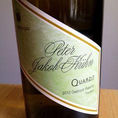 Peter Jakob Kühn 2012 Quarzit, Rheingau  Ein dynamischer & druckvoller Wein mit grandioser Mineralität! #weinerleben #wein #riesling