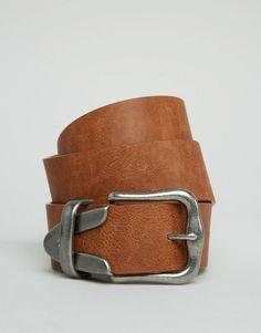 Imagen 1 de Cinturón para vaqueros con extremo en contraste de ASOS  Cinturones a4a16af62a62
