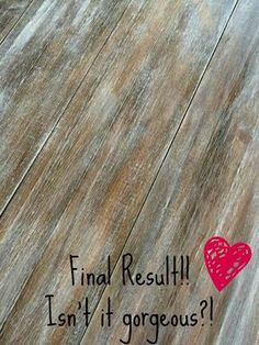 DIY Barn Wood Technique | Paint Trick | the tutorial uses Cece Caldwell paints, but can get the same with other paints/stains -- Step 1: Gray (Pittsburgh Gray) and water into wood grain, Step 2: Dry, Step 3: Wipe stain over it (She used Savannah Praline) Step 4:  Let stain Dry a few hours, Step 5: Small amount of white (Simply White) paint and dry brush onto it going with grain (wipe off excess as needed, but may need to add more after wiping excess), Step 6: Let cure or wipe on wax or…