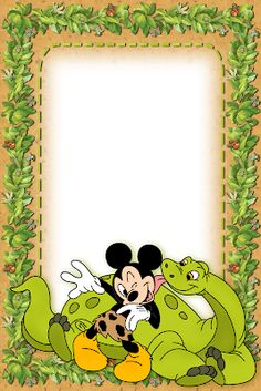 Mickey Coloring Pages, Disney Frames, Foto Frame, Writing Paper, Minnie Mouse, Disney Characters, Fictional Characters, Origami, Snoopy