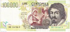 Italy, 100.000 Lire, 1994