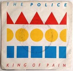 The Police - King of Pain 7' Single 45 RPM Vinyl Record, A&M, AM-2569, Rock, 1983, Original Pressing