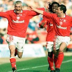 Nostalgic90's - when Middlesbrough had Juninho, Emerson and ravanelli in their ranks... 👌#middlesbrough #mfc #boro #juninho #emerson #ravanelli #classicpremierleague #middlesbroughfc #premiership #premierleague #football #soccer #retrofootball #90sfootball #vintage #vintagefootball