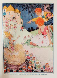 Hilda Cowham illus., from ''Puck Annual 1933'', Fleetway House. | eBay