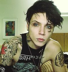 Andy Germany Nov 2013 black veil brides