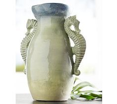Sea Life Vases #Pottery Barn
