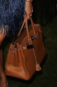 Olivia Palermo Leather Tote - Tote Bags Lookbook - StyleBistro