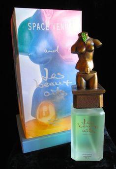 """Les Beaux Arts """"Space Venus"""" perfume bottle, design edition by Salvador Dali."""