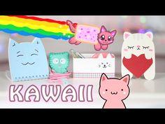 DIY KAWAII / КАВАЙНЫЕ КОТИКИ ✎ ШКОЛЬНЫЕ ПРИНАДЛЕЖНОСТИ, ОРГАНАЙЗЕРЫ ✎ Back to school Afinka - YouTube