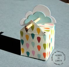 How to make this cute little box. Creative Gift Wrapping, Creative Gifts, Wedding Gift Inspiration, Explosion Box Tutorial, Staff Gifts, Envelope Punch Board, Christmas Gift Box, Little Boxes, Gift Packaging