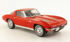 Chevrolet Corvette Stingray 1965 rot 1:18 Maisto 31640
