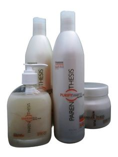 Parenthesis Professional Complete Line by Parenthesis Professional. $110.00. Parenthesis Professional Revitalizing Treatment anti hair loss. Parenthesis Professional Leave-In. Parenthesis Professional Shampoo Revitalizer with Vitamins. Parenthesis Professional Conditioner Revitalizer. Looking for real solution to the need for women, when choosing products that enhance the natural beauty of your hair? PARENTHESIS meet your needs with products based on natural plant extrac...