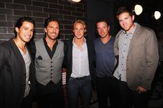 Del Zotto, Lundqvist, Hagelin, Richards and Bickel