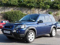 4x4 LAND ROVER - Freelander blue wagon