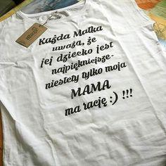 #tshirt dla mamy - zwycięski #wzór w naszym konkursie :-) #zdjęcie #stimagopl