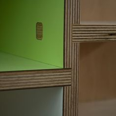 neat plywood joints by Kerf. like the laminate and plywood combo.