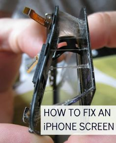 ✥ How to replace a cracked iphone screen.  Considering a family member just spent 150.00 (through carrier insurance) to replace a damaged iphone screen, maybe I will try this if I ever need it.  :)