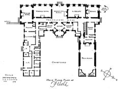 Main Floor Plan of Filoli   architect design™: Filoli Floorplan