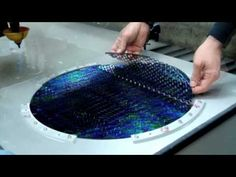 Spine tingling! Glasswork...but watch this process!
