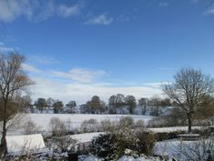 Shropshire Snow – photographed by Anthony J Sargeant from the bedroom window of his home 9th December 2017