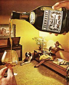 Cognac Hennessy, 1960.