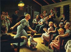 thomas hart benton mural in the country music hall of fame - Bing Images