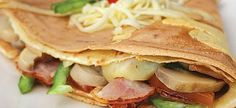 Cookbook Recipes, Cooking Recipes, Easy Recipes, The Kitchen Food Network, Crepes, Food Network Recipes, Donuts, Pancakes, Sandwiches