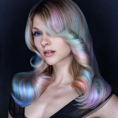 The *magic* awaits. | Opal Hair Is The Pastel Version Of Rainbow Hair And It's Positively Magical