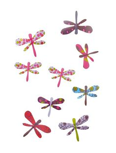 Pack of 16 Butterfly Decorations Assorted