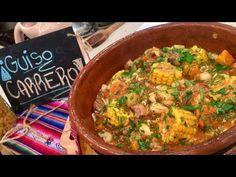 Dorar la carne en cubitos en cacerola con aceite. Retirar cuando dora y reservar aparte. En la misma sartén agregar la cebolla, morr&oacu...