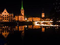 Zurich by night | Photo: Leda Nishino