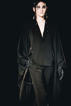 Yohji Yamamoto AW15, Dazed runway, Womenswear, Paris
