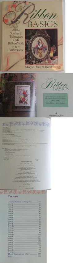 RIBBON EMBROIDERY Pattern Books #3405,#3406,#3412 U-PICK 1 FROM 3 ASON