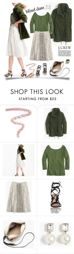 """""""Untitled #67"""" by craftsperson ❤ liked on Polyvore featuring Bobbi Brown Cosmetics, J.Crew, Gianvito Rossi and blinddate"""