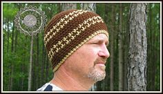 Ravelry: Hounds Tooth Beanie Hat pattern by Kathy Lashley