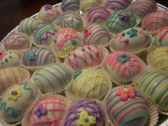 Easter Egg cake balls?? Love it!!!
