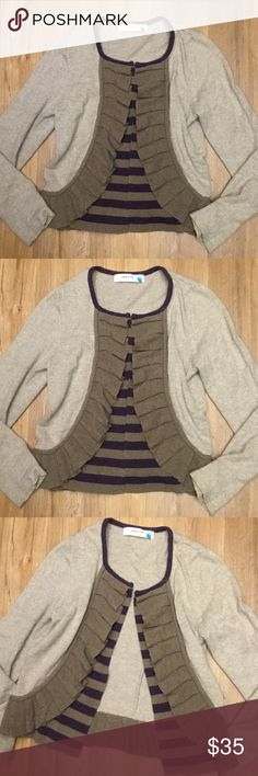 Anthropologie Sparrow Open sweater size L Anthropologie Sparrow sweater in good preowned condition size L Anthropologie Sweaters Cardigans