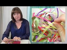 🌷Introduction to ribbon work hand embroidery🌷 Ribbon embroidery for beginners Hand Embroidery Videos, Rose Embroidery, Learn Embroidery, Embroidery For Beginners, Embroidery Techniques, Embroidery Stitches, Embroidery Designs, Ribbon Embroidery Tutorial, Silk Ribbon Embroidery