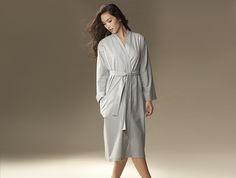 Unisex Flannel Robe - I love the unisex idea!