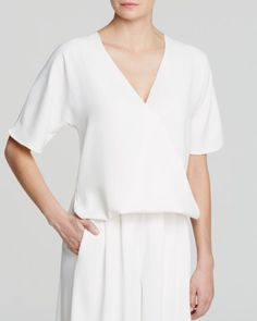 FRENCH CONNECTION Top - Aro Crepe | Bloomingdales's