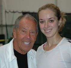 "From Sabine Lisicki: ""Wishing the coach legend Nick Bollettieri a very happy 85th birthday"" 🎉🎈🎁🎊 #weneedtotakeanewpicture #longtime 😂😎- from Sabine Lisicki - July 2016"