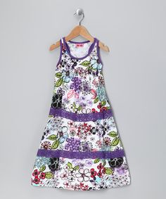 Take a look at this Royal Ulla Dress - Toddler & Girls by Me Too on #zulily today!