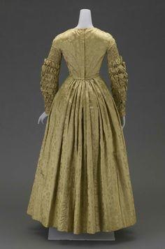 Dress, ca. 1840.