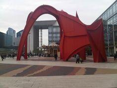L'Araignée rouge de Calder à La Défense