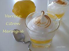 Verrines Citron Meringué