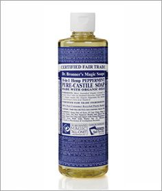 Dr. Bronner's Peppermint Liquid Soap