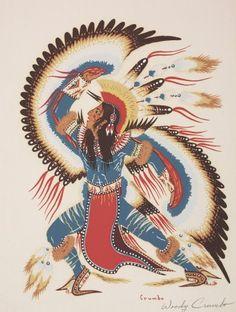 Eagle Dancer by Woody Krumbo